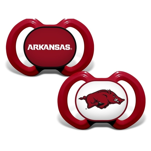 NCAA University of Arkansas Gen. 3000 Pacifier - 2 Pack 35256602