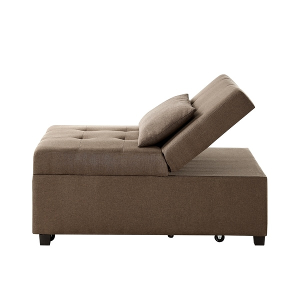 Powell Boone Brown Sofa Bed