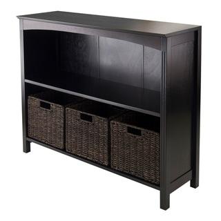 4pc Storage 3-Tier Shelf with 3 Small Baskets
