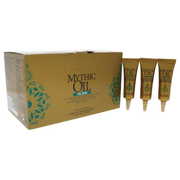 L'Oreal Professional Mythic Oil 0.4-ounce Bar Scalp Clarifying Pre-Shampoo (Pack of 15) 35285095