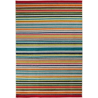 Courtyard Stripe multi/snow - multi