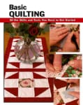 Basic Quilting: All the Skills and Tools You Need to Get Started (Spiral bound)