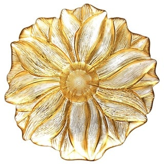 MAGNOLIA Gold Clear Side Plate