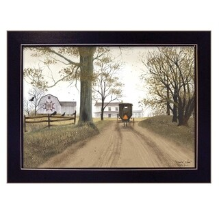 """Headin' Home"" by Billy Jacobs, Ready to Hang Framed Print, Black Frame"