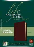 Life Application Study Bible: New Living Translation Version, Burgundy Bonded Leather Large Print