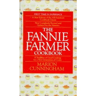 The Fannie Farmer Cookbook (Paperback)