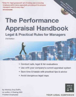 The Performance Appraisal Handbook: Legal & Practical Rules for Managers