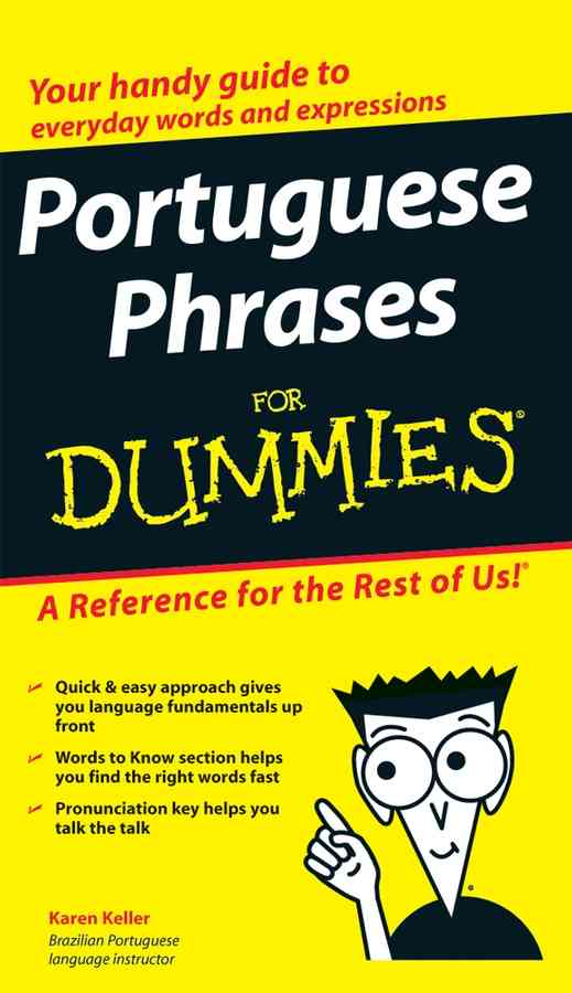 Portuguese Phrases for Dummies (Paperback)