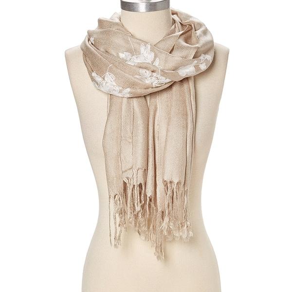 "Floral Long Stole Soft Pashmina Scarfs Fashion Women Scarves Shawls Wrap - 29""x74"" 35562340"