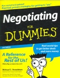 Negotiating for Dummies (Paperback)