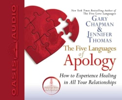 The Five Languages of Apology (CD-Audio)