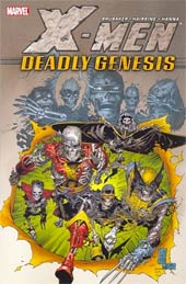 X-Men: Deadly Genesis (Paperback)