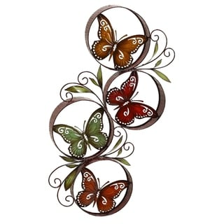 Copper Grove Seymour Butterfly Wall Decor