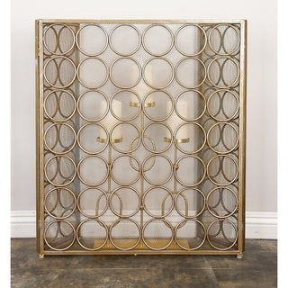 Strick & Bolton Buri Dot Metal Fire Screen