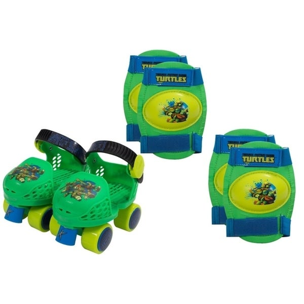 Playwheels Teenage Mutant Ninja Turtles Kids Rollerskate Combo Junior Size 6-12 35681646