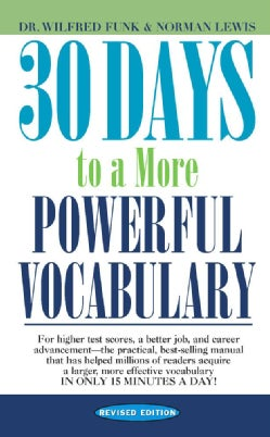 30 Days to a More Powerful Vocabulary (Paperback)