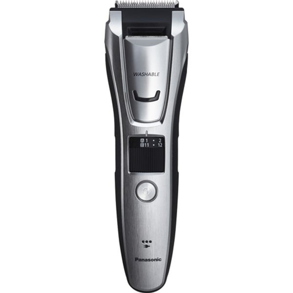 Panasonic Beard, Hair, and Body Trimmer with 3 Comb Attachments Silver 35715735