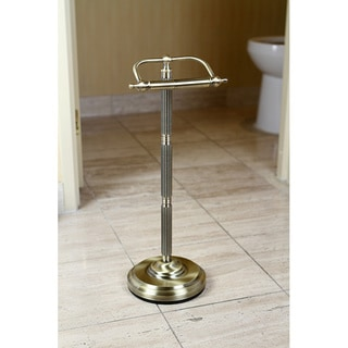 Antique Brass Free Standing Paper Holder