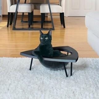 Hauspanther TriPod - Cat Lounge Pod by Primetime Petz (Black)
