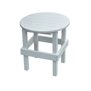 Outdoor Round Side Table - Recycled Plastic