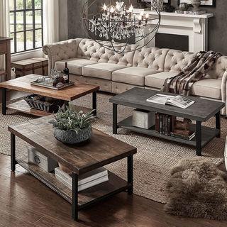 Carbon Loft Maxwell Reclaimed Rectangular Coffee Table