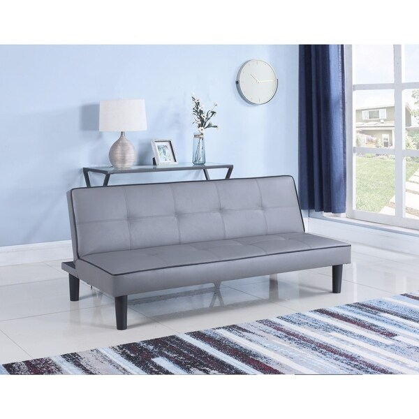 Contemporary Sofa Bed, Gray