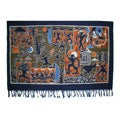 Handmade Chinese Stone Art Tapestry (China)