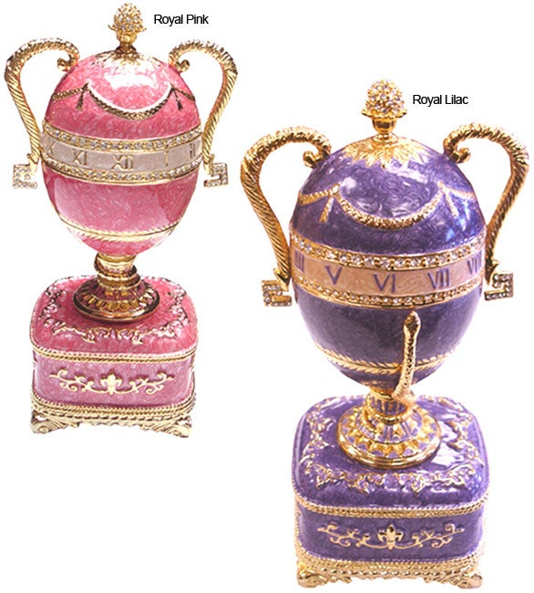 Faberge-style Collectible Enameled Egg