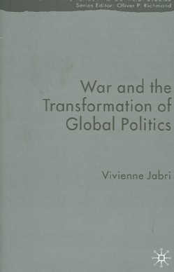War And the Transformation of Global Politics (Hardcover)