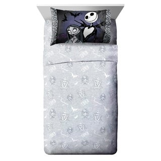 Disney Nightmare Before Christmas Meant To Be 4 Piece Full Sheet Set