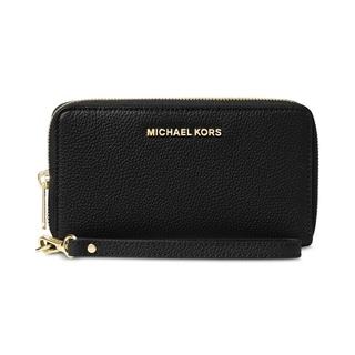 MICHAEL Michael Kors Mercer Large Flat Multi Function Phone Case Black