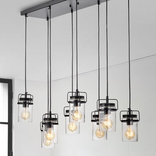Margarita Oil Rubbed Bronze 8-Light Pendant with Clear Glass shade