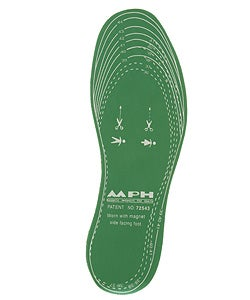 MPS Magnetic Foam Insoles  (2 Pair)