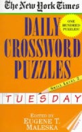 The New York Times Daily Crossword Puzzles: Tuesday : Level 2 (Paperback)