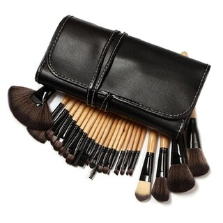 M.B.S 32 Piece Makeup Brush Set with Case