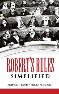 Robert's Rules Simplified (Paperback)