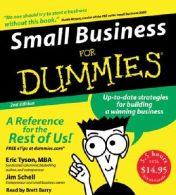 Small Business for Dummies (CD-Audio)
