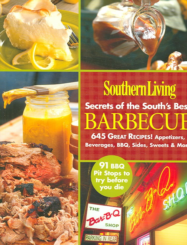 Southern Living Secrets of the Souths Best Barbecue (Paperback)