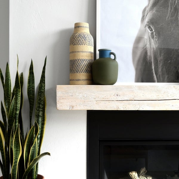 Solid Timber Fireplace Mantel Shelf