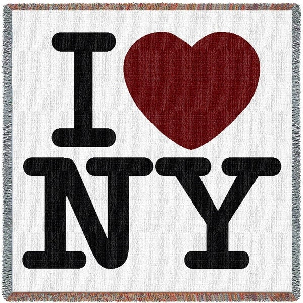 I Love NY Small Blanket 36116031