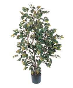 Silk 4-foot Ficus Tree