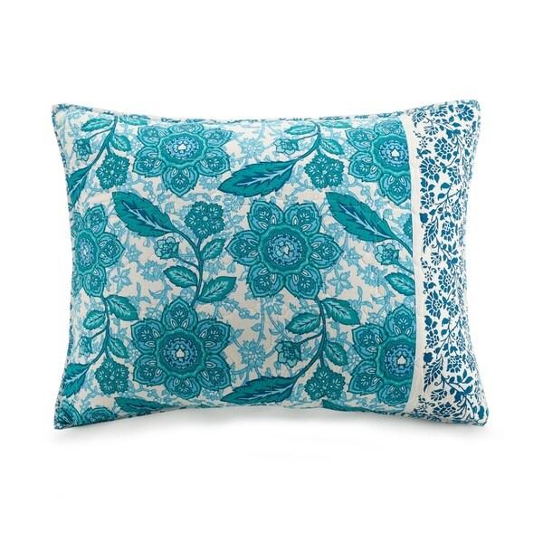 Jessica Simpson Aqua Flora Standard Sham 36165258