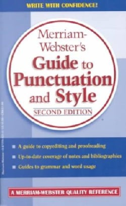 Merriam-Webster's Guide to Punctuation and Style (Paperback)