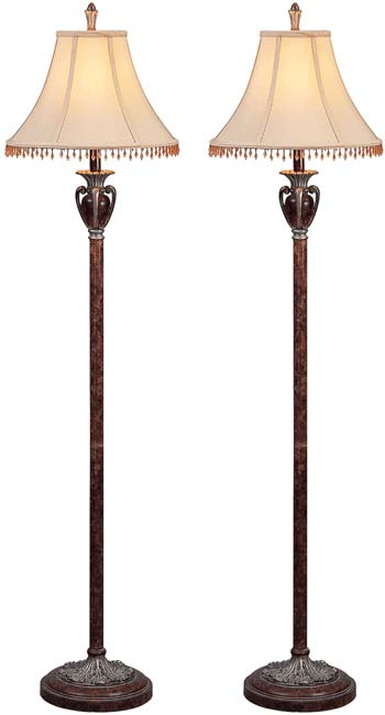Ceasar Floor Lamps (Set of 2)