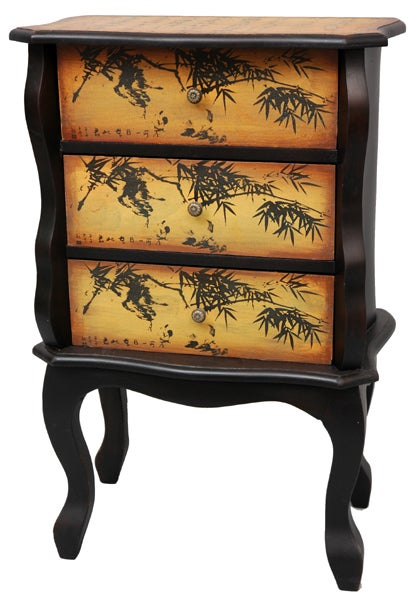 Bamboo Design Three-drawer Cabinet (China)