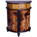 Family Gathering Round Front Cabinet (China)