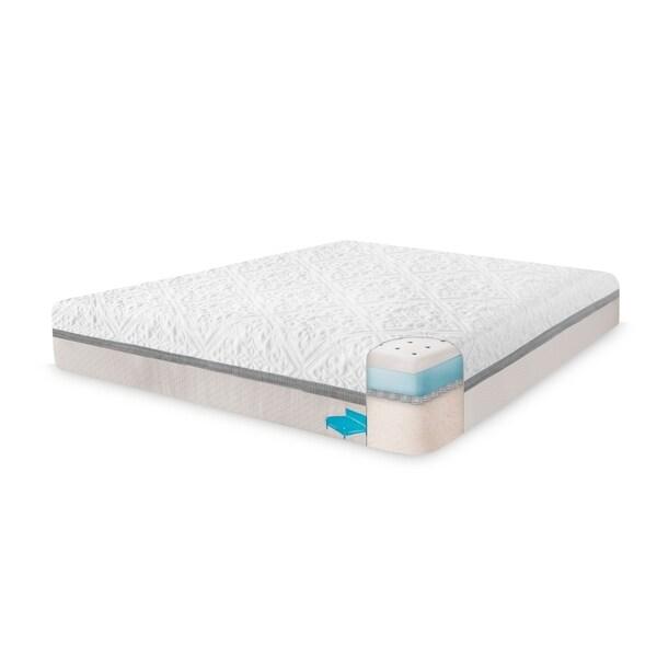"""Cooling Mattress Encasement Cover for 14"""" Mattress - White"""