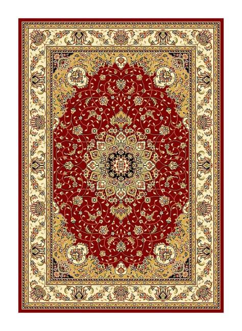 Safavieh Lyndhurst Collection Red/Ivory Oriental Rug (8' x 11')