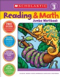 Scholastic Reading & Math Jumbo Workbook Grade 3 (Paperback)