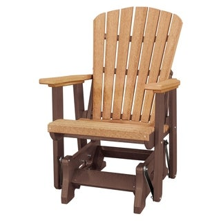 OS Home Model 515CTB FanBack Glider Made in the USA- Cedar, Tudor Brown